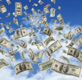 money-flowing